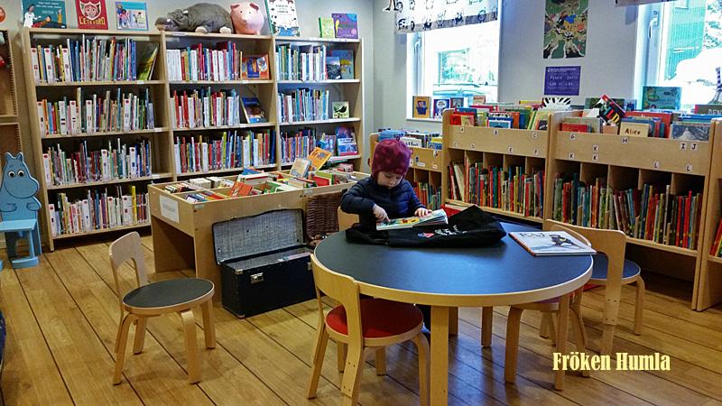 Bibliotek,Jokkmokk,barnböcker