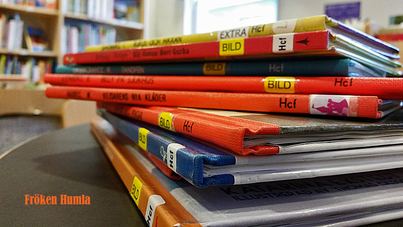 Jokkmokk,bibliotek,barnböcker