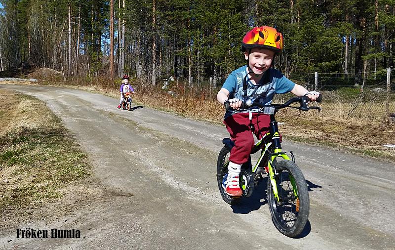 cykla,barn