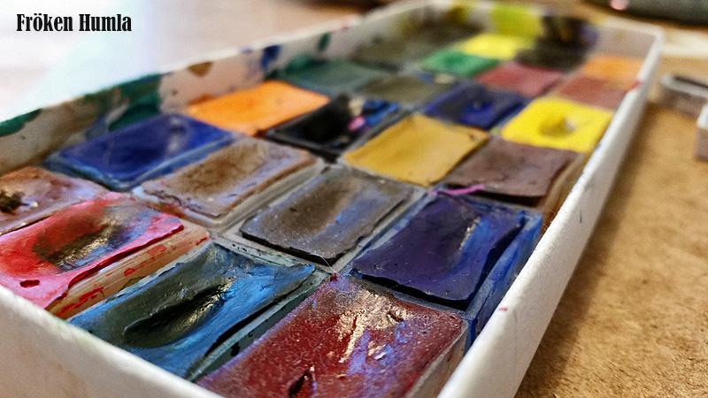 akvarell,färger,fröken humla,jenny holmgren,konst,norrbotten