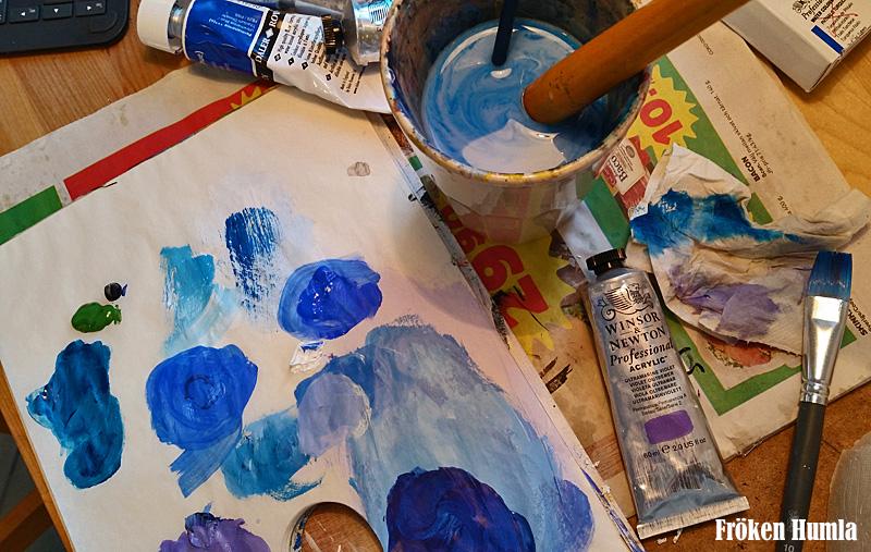 färg,konst,konstnär,atlejé,norrbotten,fröken humla,jenny holmgren