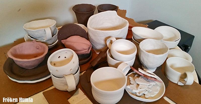 lera,keramik,keramikverkstad,fröken humla,jenny holmgren,norrbotten