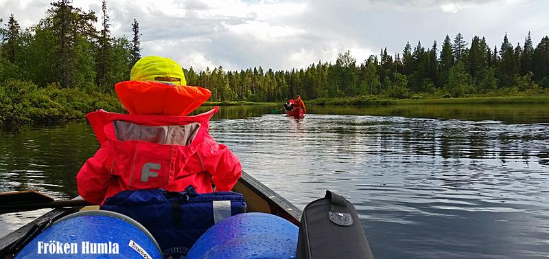 paddling,norrbotten,barn,fröken humla,jenny holmgren