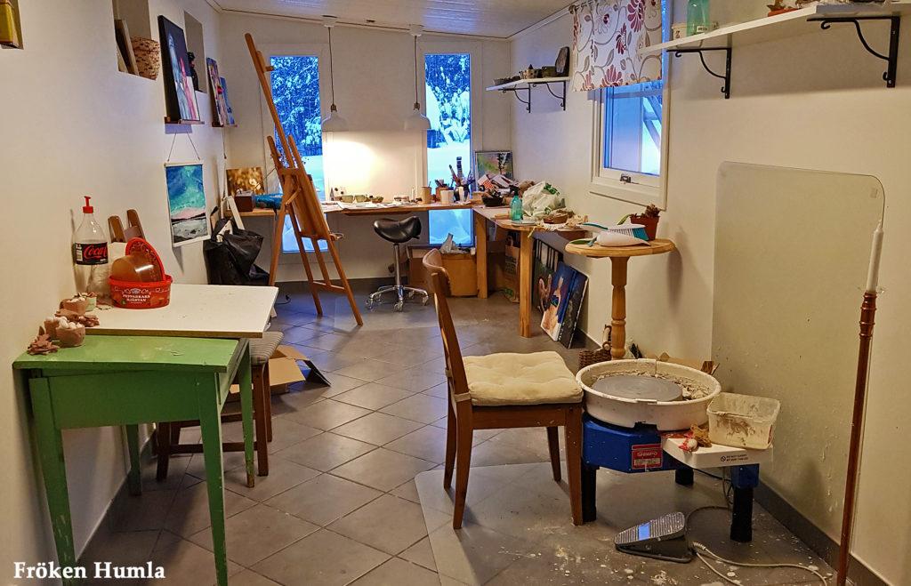 fröken humla, jenny holmgren,ateljé,keramikverkstad,norrbotten