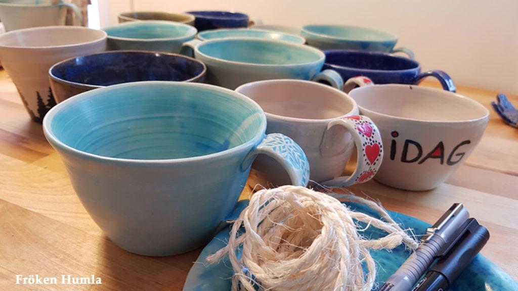 fröken humla,jenny holmgren,keramik,muggar,norrbotten