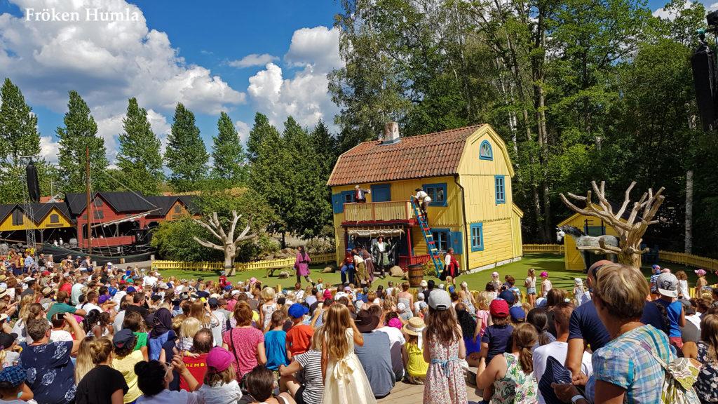 astrid lindgrens värld,pippi långstrump,sommar,2018,fröken humla,jenny holmgren