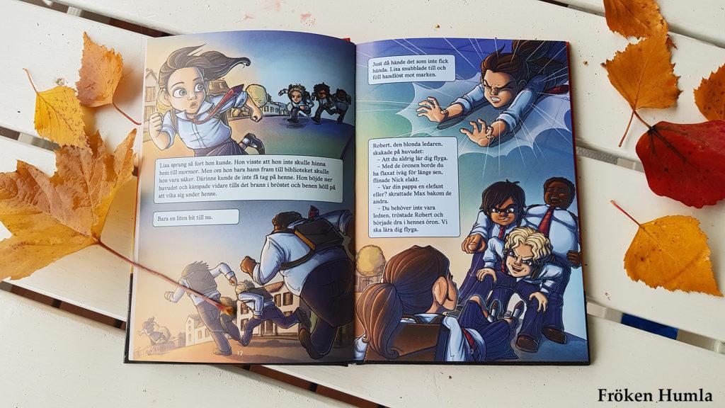 handbok för superhjältar,boktips,norrbotten,fröken humla,jenny holmgren